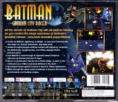 Sony PlayStation Batman Gotham City Racer Back Cover